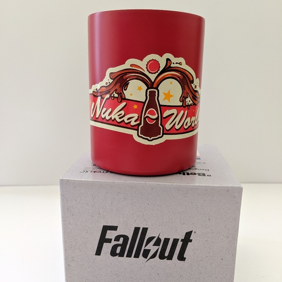 Numskull Other - Fallout Nuka World Steel Mug